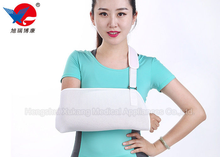 Protective Breathable Arm Sling Operate Easily For Forearm Double Fracture