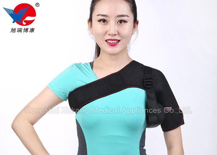 Thin Profile Design Sports Shoulder Brace Rotator Cuff  Minimal Visibility Underneath Shirt
