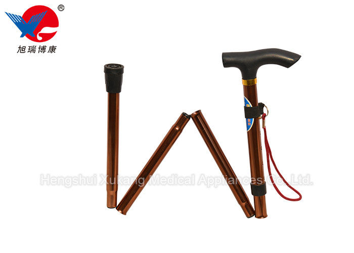 Mountaineering Foldable Forearm Crutches Relieve Leg Pressure Protect Knee Joints